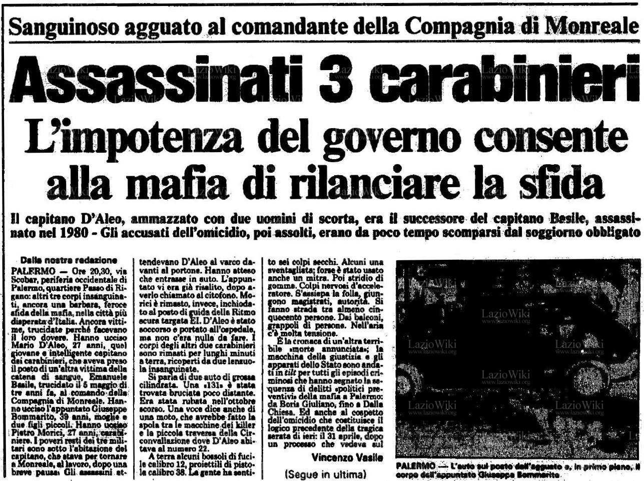 File: [14giu1983UnitaDAleo1.jpg] | Sat, 23 Apr 2016 13:26:12 GMT LazioWiki: progetto enciclopedico sulla S.S. Lazio  www.laziowiki.org