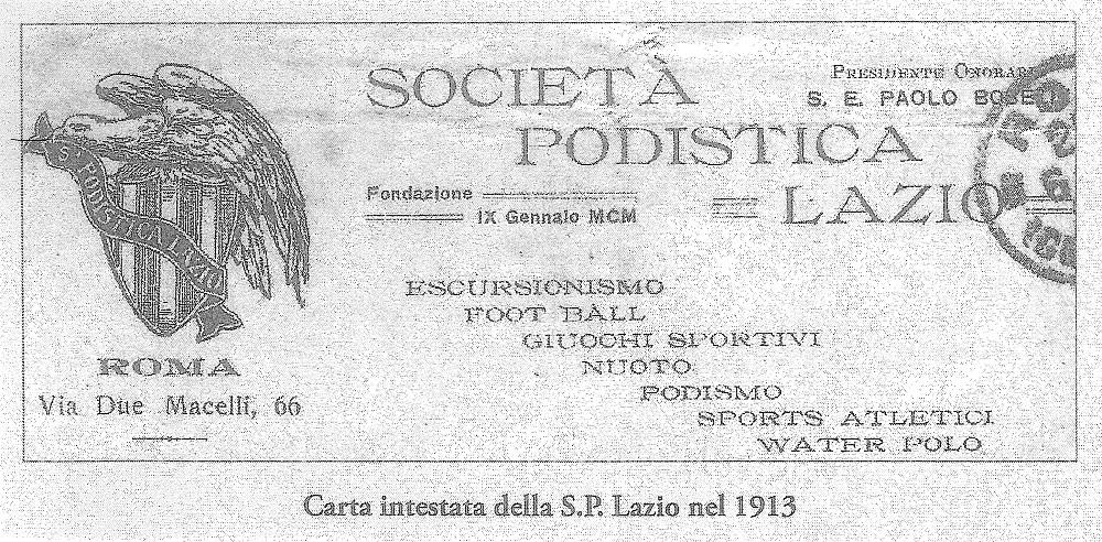 S.E. Paolo Boselli Presidente Onorario (dal libro ''Dal Tevere al Piave'')