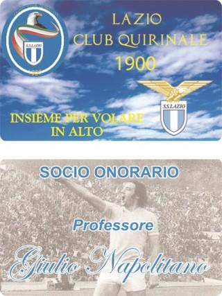 Tessera LCQ del prof. G. Napolitano